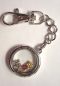 Keychain Locket (Round)
