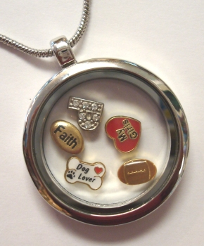 Round Locket Necklace